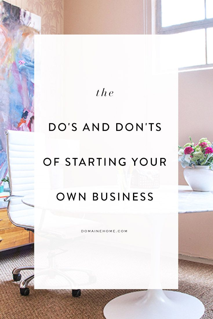 Starting a Business? Follow These 10 Dos and Donts