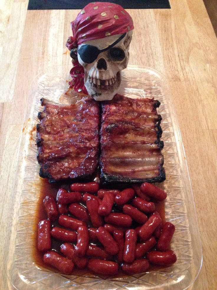 Skeleton rib and guts – Click Pic for 20 Healthy Halloween Snack Ideas for Kids