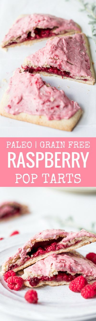 Easy to make paleo raspberry pop tarts are so full of flavor, naturally…