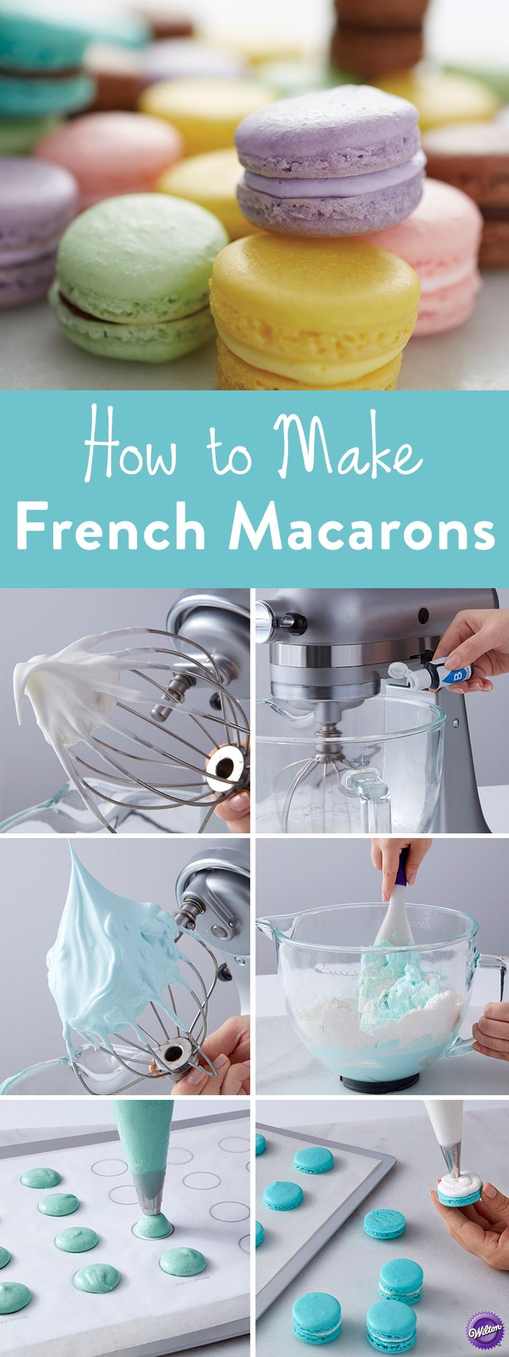 How to Make French Macarons – Learn how to make French Macaron cookies with our…