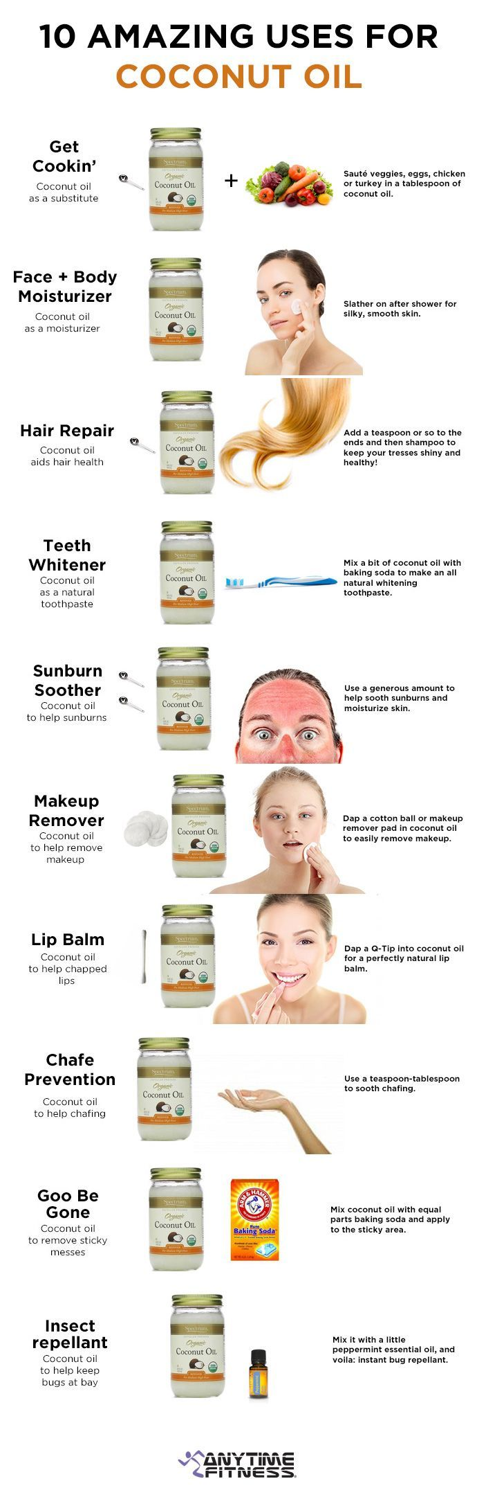 10 Amazing Uses for Coconut Oil