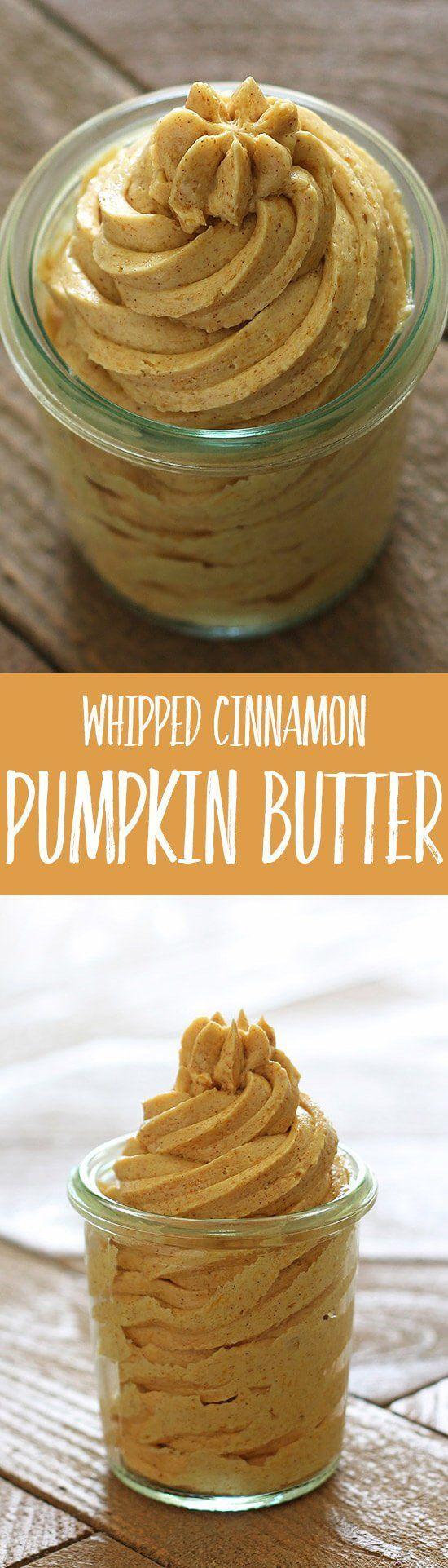 Whipped Cinnamon Pumpkin Butter