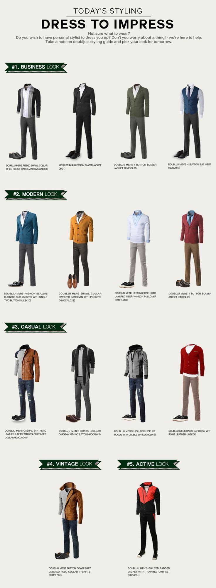 44 Infographics that will make a Man Fashion Expert – LooksGud.in
