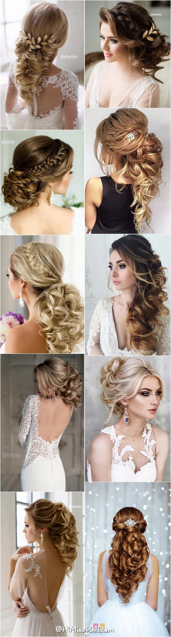 Bridal Wedding Hairstyles for Long Hair That Will Inspire / www.himisspuff.co…