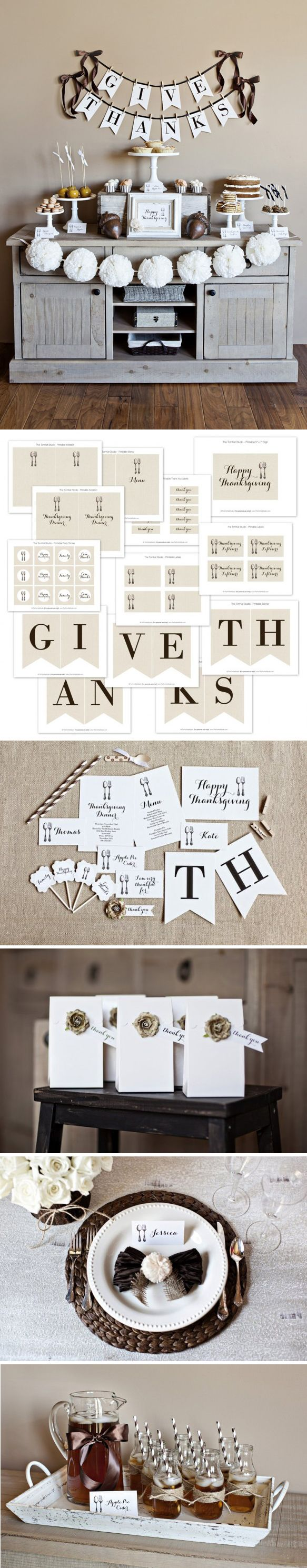 GiveThanks Collection 2012 – free printables from TheTomkat Studio www.thetomkatst