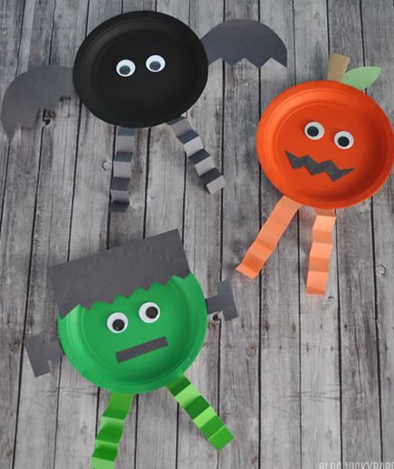 Get the kids involved with decorating the house for Halloween. Or use these ideas