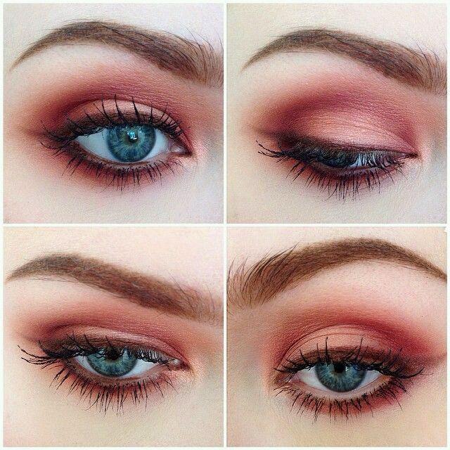 Grunge Makeup Look Idea: Red Eyeshadows – ninjacosmico.com/…