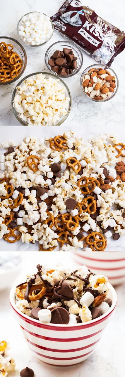 S'mores Mix Easy Dessert will be your family's new favorite snack! It takes less t