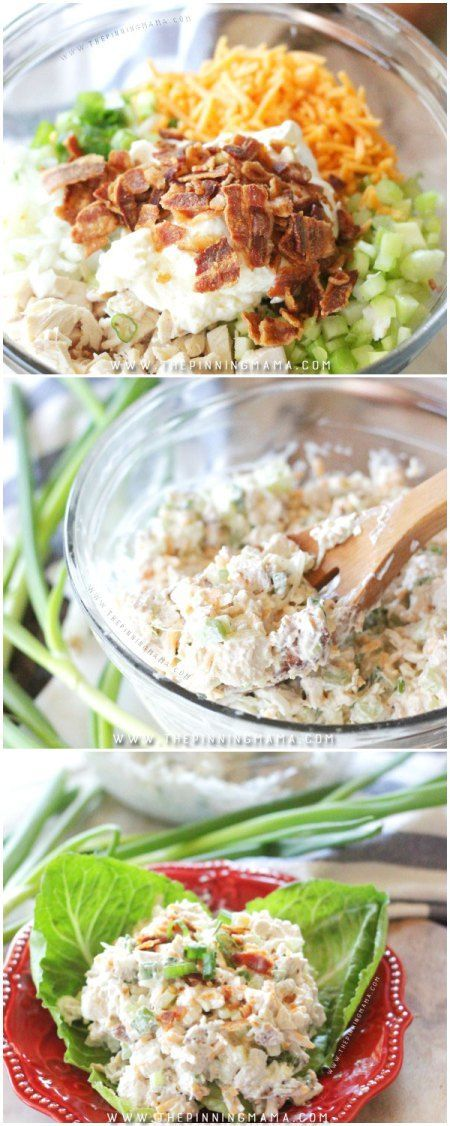 You have never had chicken salad like this! This loaded chicken salad recipe is on
