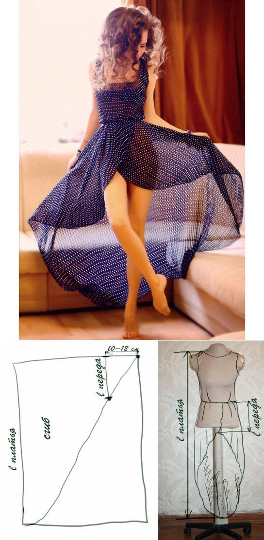 Beautiful Dresses: Decorative Sewing….♥ Deniz ♥  diy  a tulle or lace overla