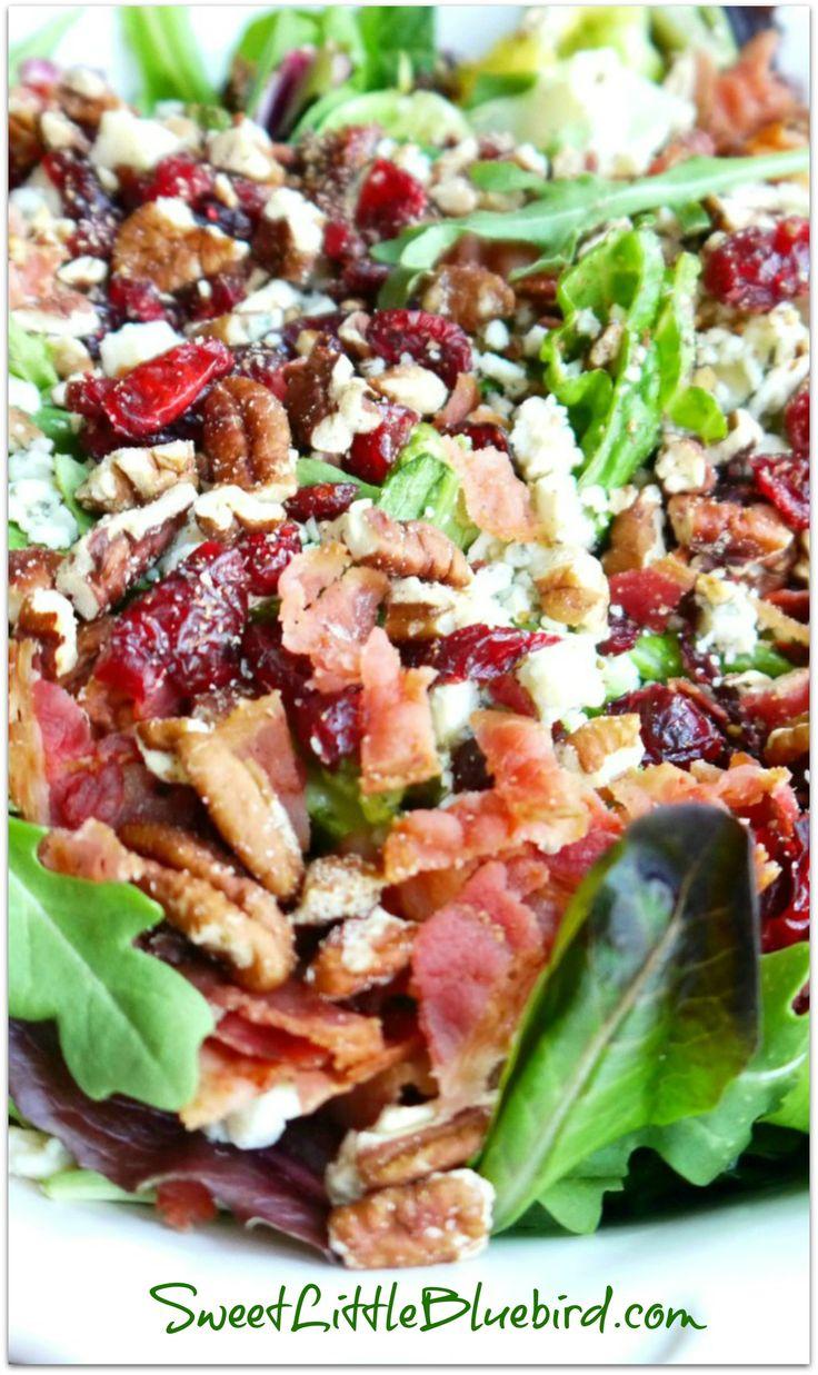 POPULAR PIN! MY #1 MOST REQUESTED SALAD {Made with Gorgonzola, Apple, Dried Cherri