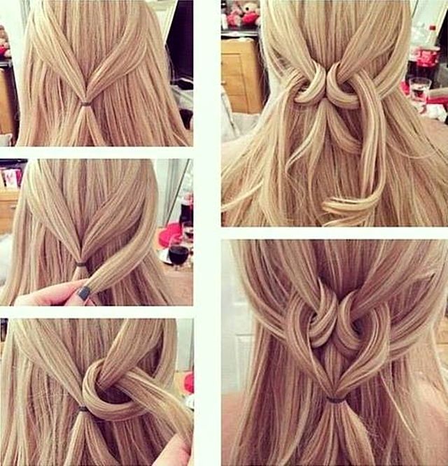 Easy Twisted Heart Hairstyle Pictures, Photos, and Images for Facebook, Tumblr, Pi