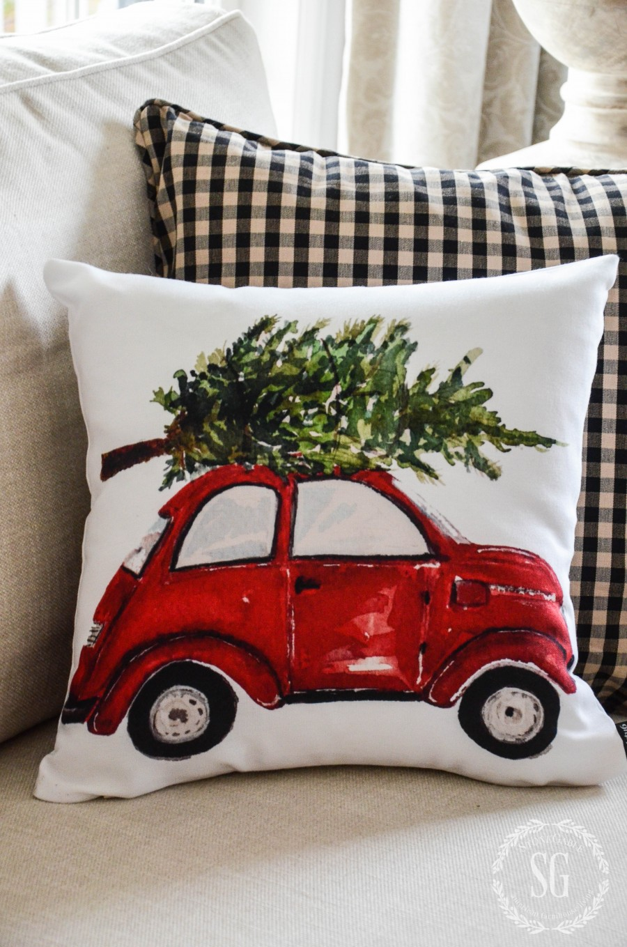 CHRISTMAS PILLOW LOVE. Decorate your home with festive Christmas Pillows. Here&#39