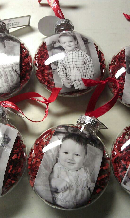 Personalized Christmas photo ornament – perfect for kids keepsake!