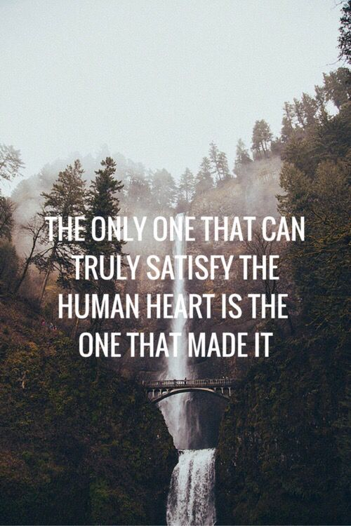 Soo true, there will always be a void in your heart that you try to fill with thin