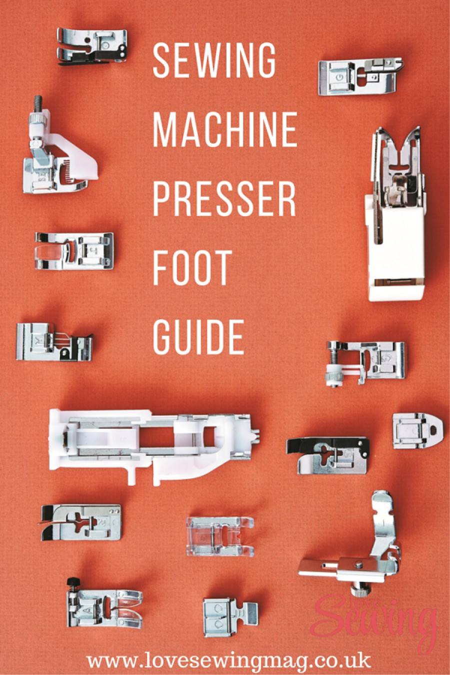 Sewing Machine Presser Foot Guide for Beginners
