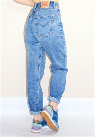Vintage 80s Levis 504 High Waisted Jeans
