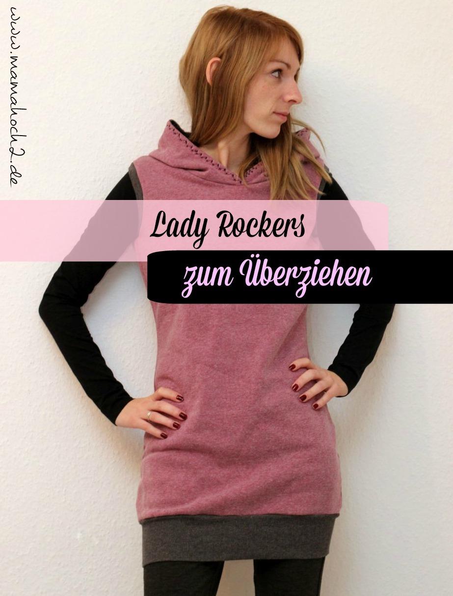 Aus unserem Freebook Lady Rockers kann man nicht nur Kleider, Pullis, Hoodies und