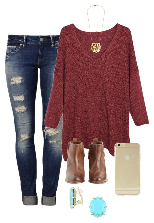 """""""OOTD"""" by prep-lover1 ❤ liked on Polyvore featuring Mavi, Violeta by M"""