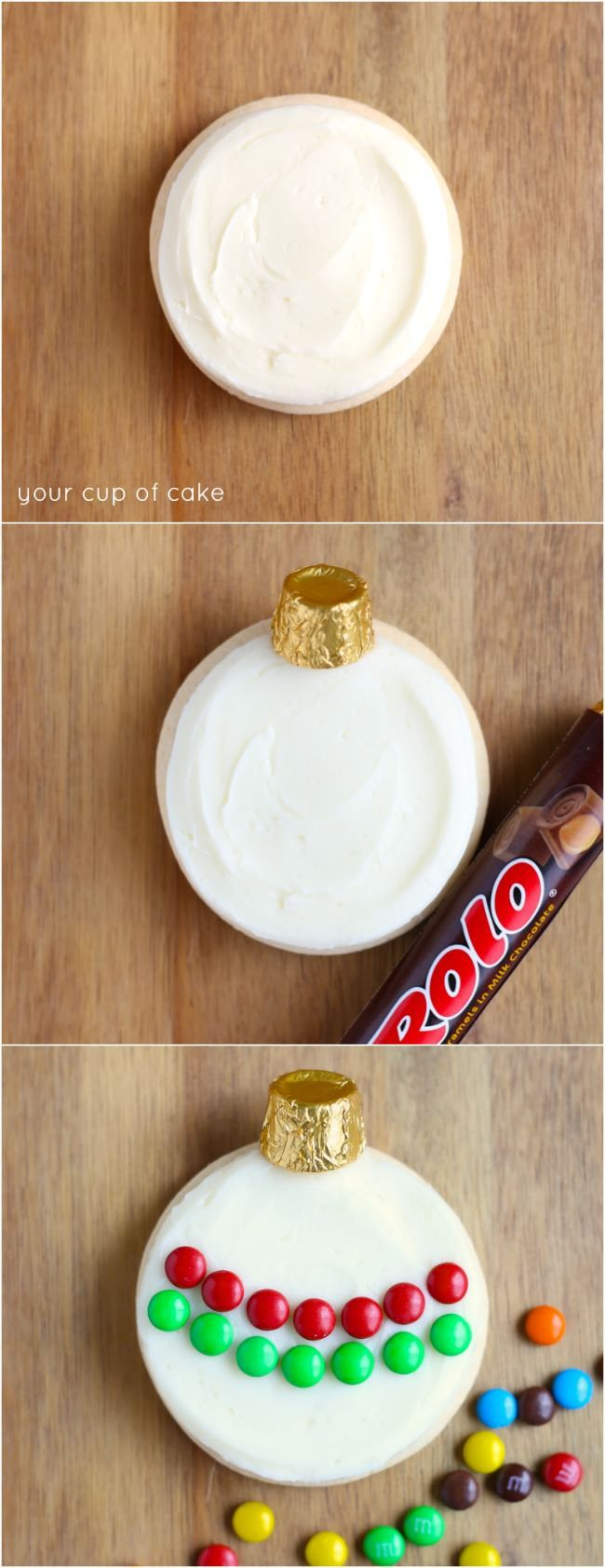 How to decorate Ornament Sugar Cookies, great for cookies decorating parties