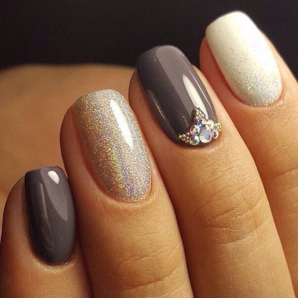 Accurate nails, Beautiful nail colors, Evening nails, Exquisite nails, Fall nail i