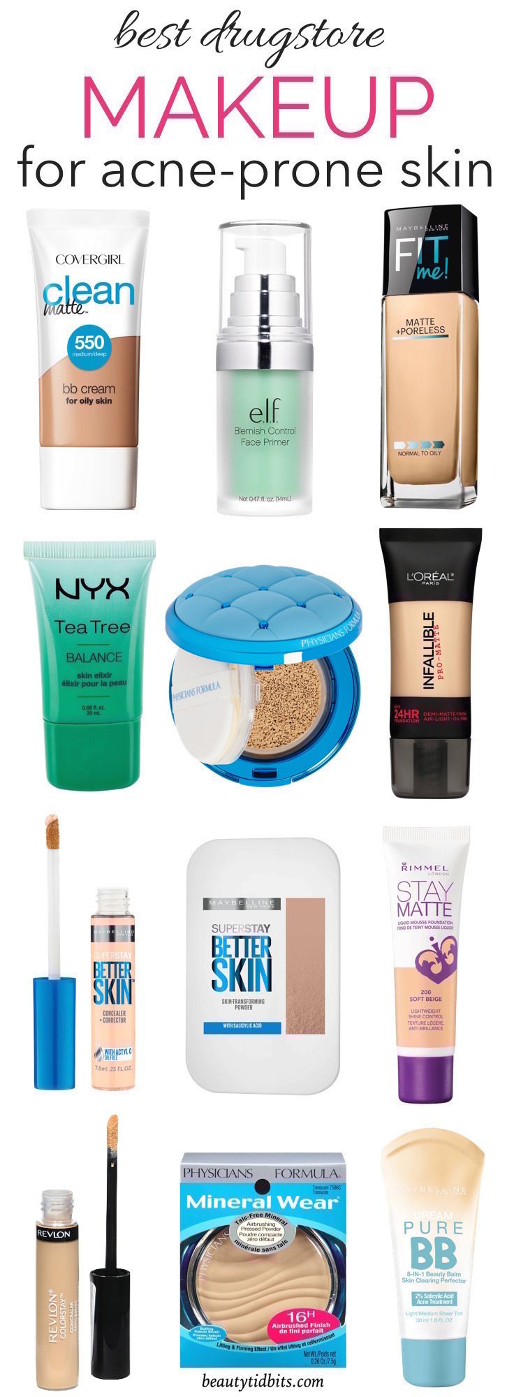 From foundations and BB creams to concealers, this is the ultimate guide to the be