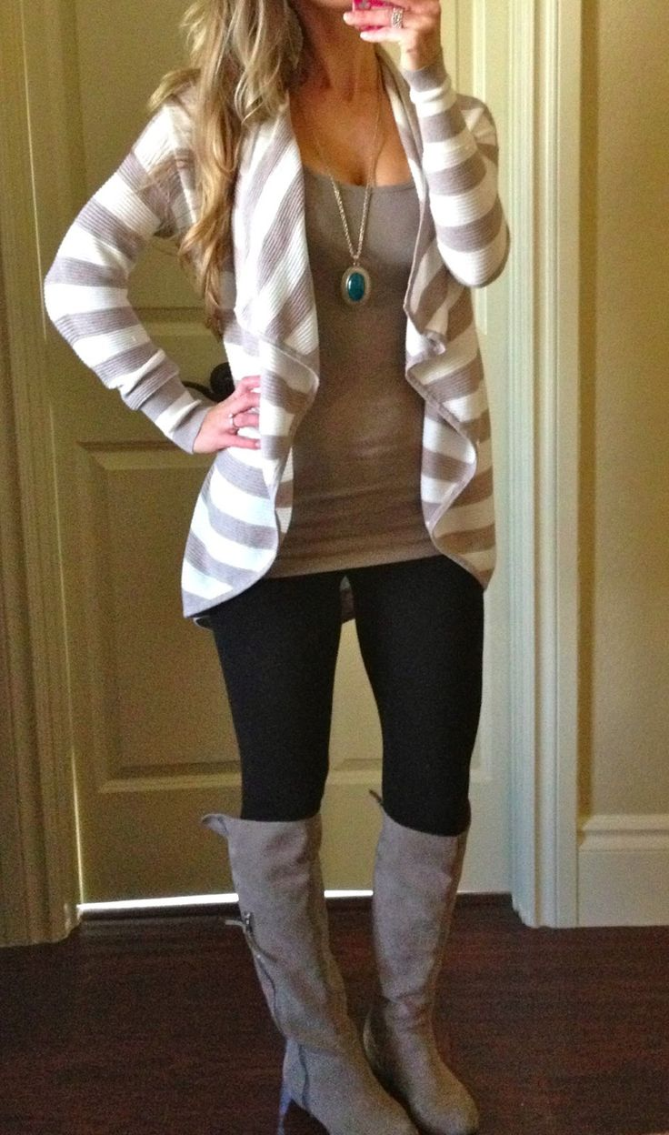 Forever 21 leggings, Old Navy Tami Tank (these are no longer available online, but