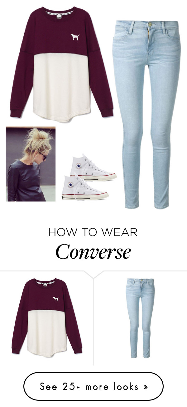 """""""Untitled #83"""" by jacqueline66 on Polyvore featuring moda, Frame Denim, Victoria's"""