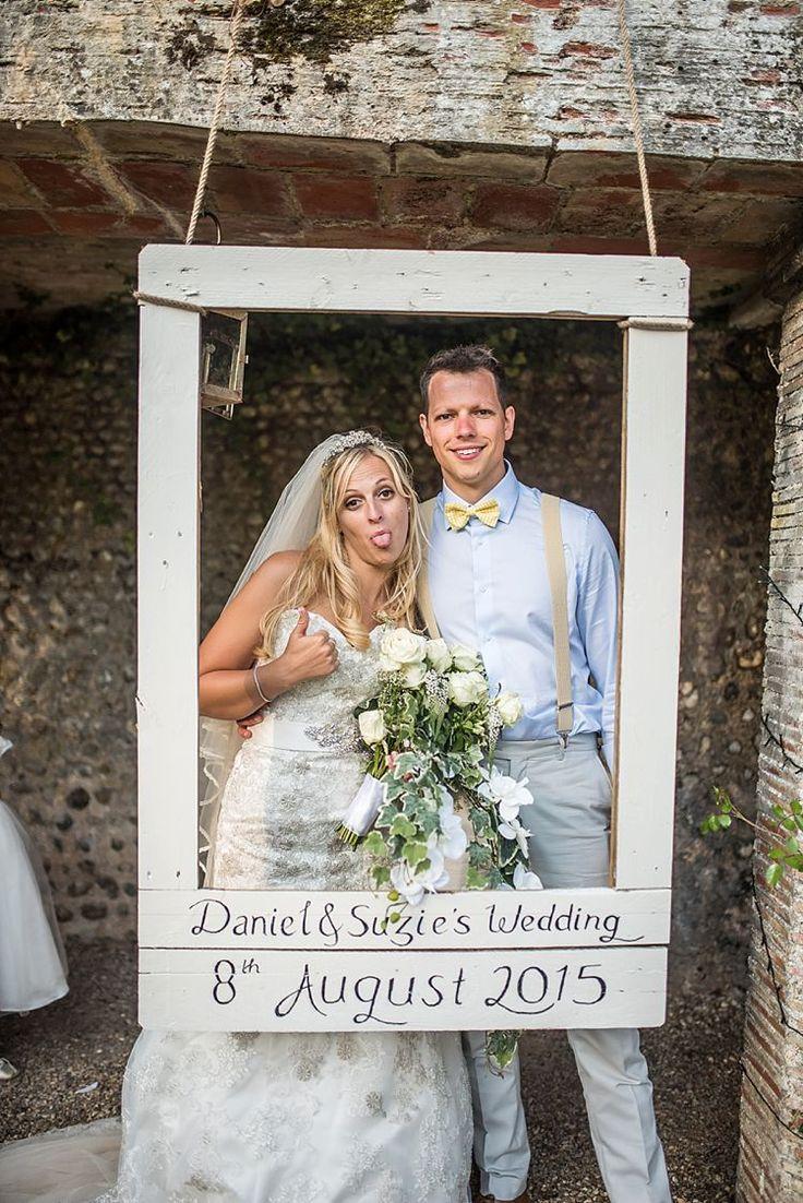 Personalised Photo Booth Frame Outdoor Festival Summer Wedding lighteningphotogr..