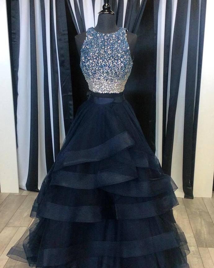Ball Gown Prom Dress, Handmade Prom Dress,Long Prom Dresses,Prom Dresses,Evening