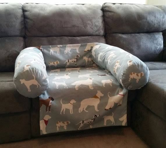 Dog bed couch protector