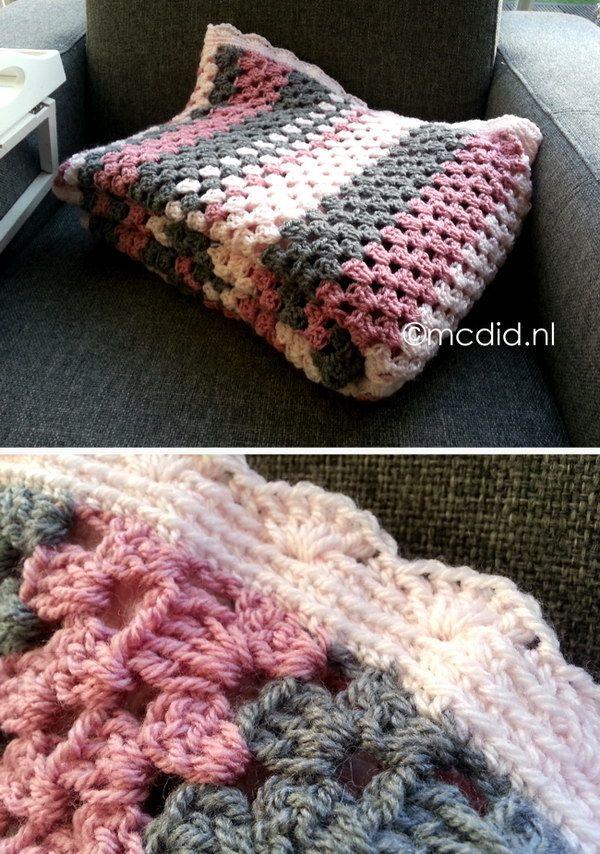 23 Granny Stripes Crochet Blanket