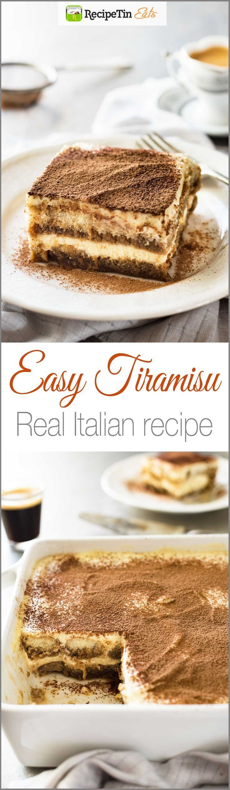 Easy Tiramisu (with VIDEO) – Authentic Italian recipe, super easy, rich and yet li