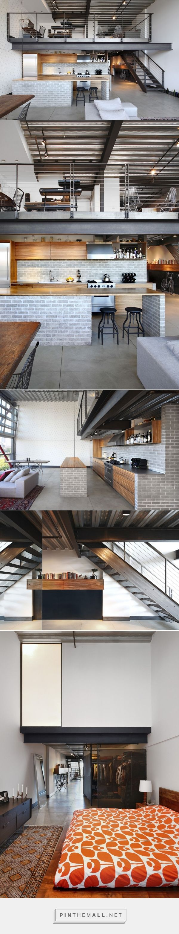 Industrial Loft by SHED Architecture & Design | HomeAdore – created via pinthemall.net