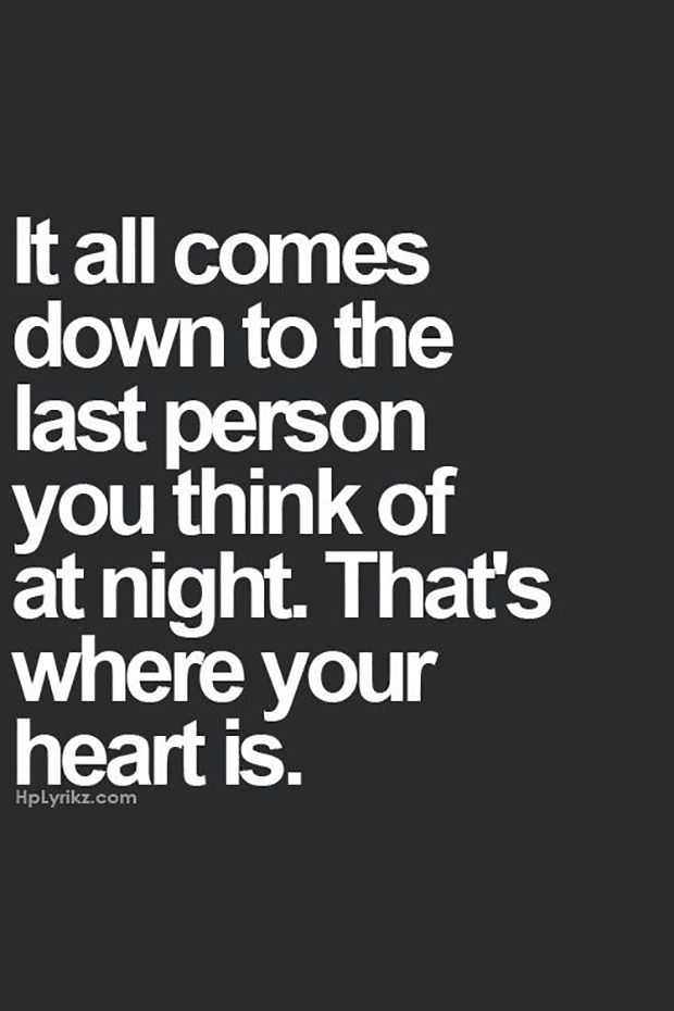 """Listening to your heart really pays off. 