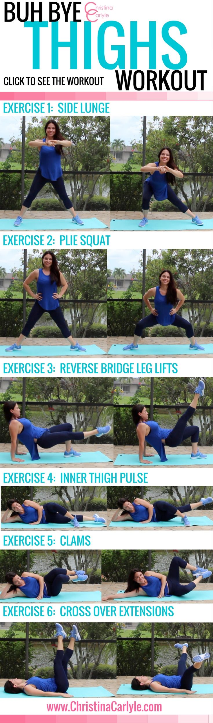 Workouts for Women – Inner Thigh Exercises