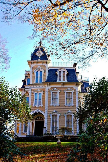 Ambrose Wager House (Croffs Villa) 54 W. Market St. Rhinebeck, NY