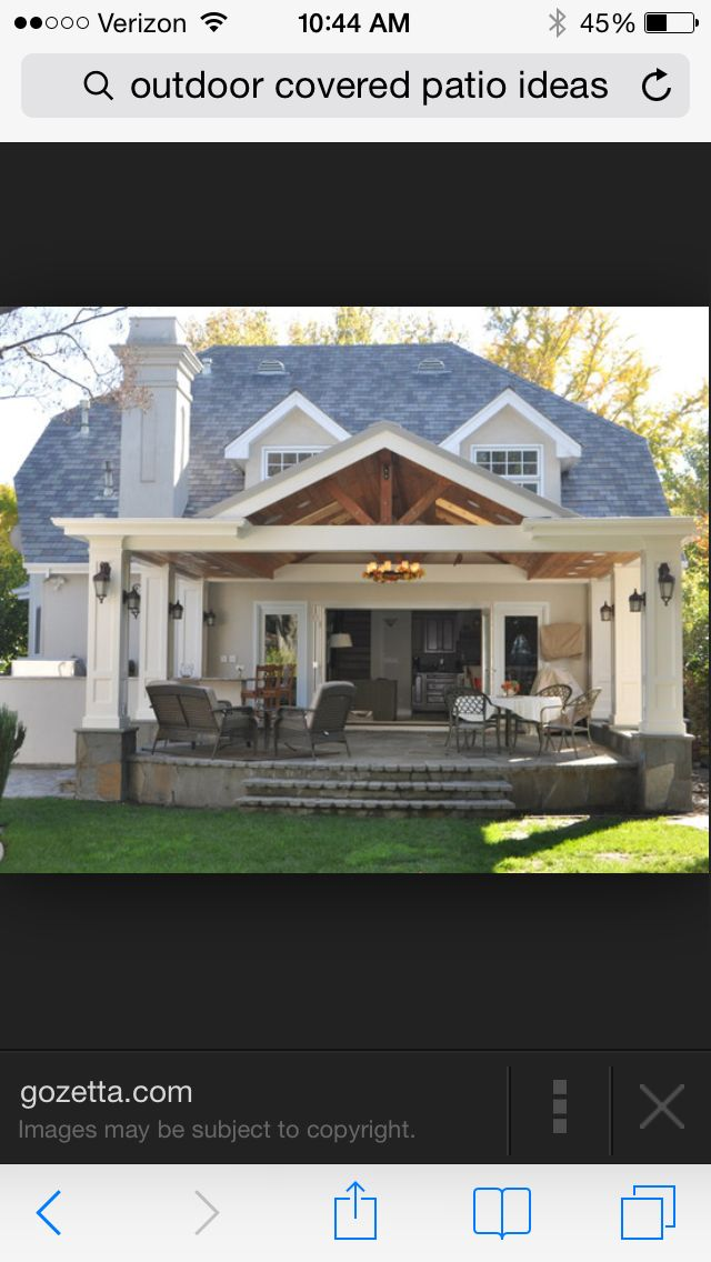 Oh my goodness I love this! Put a pergola on either side of this roof structure, or just let it stand alone