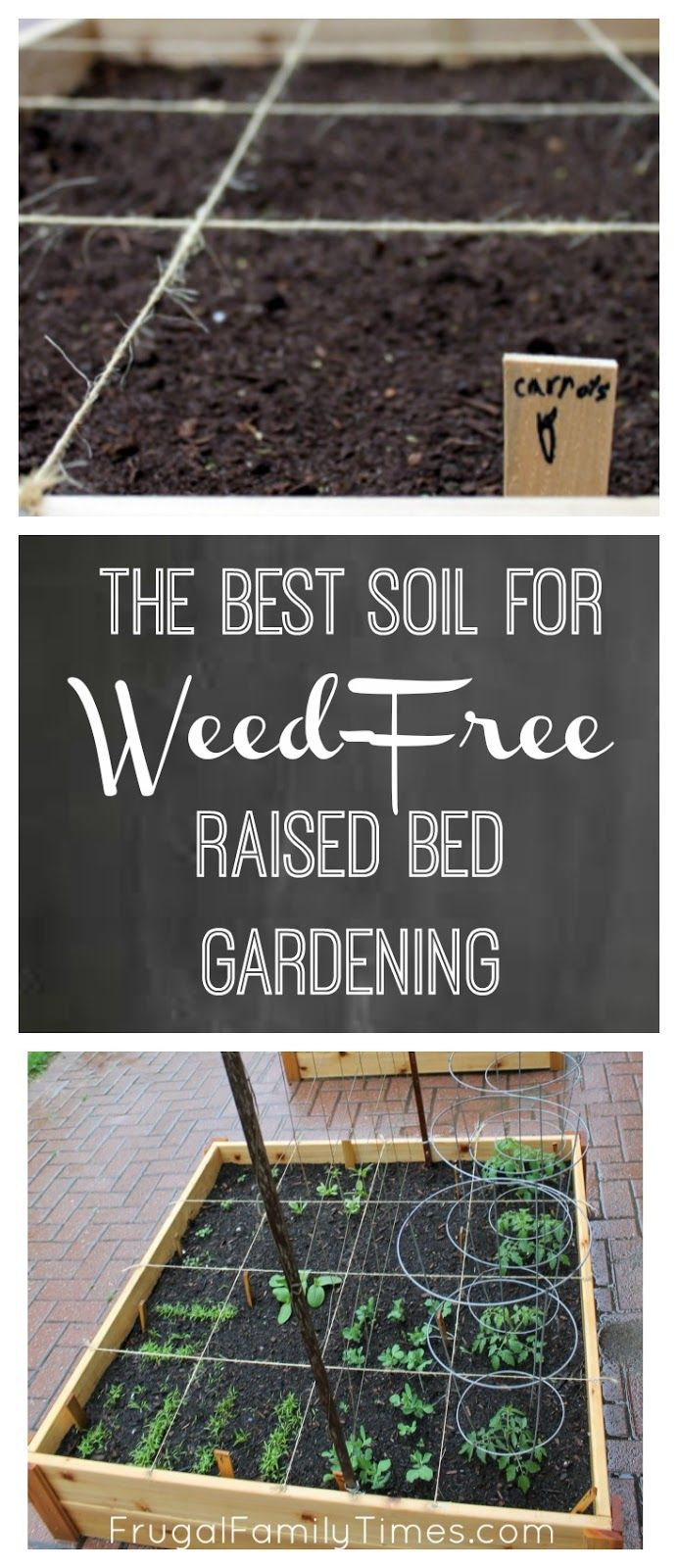 Choosing the soil for your raised bed, square foot garden.  The dirt on how to add soil to your beds to have a no or low weed