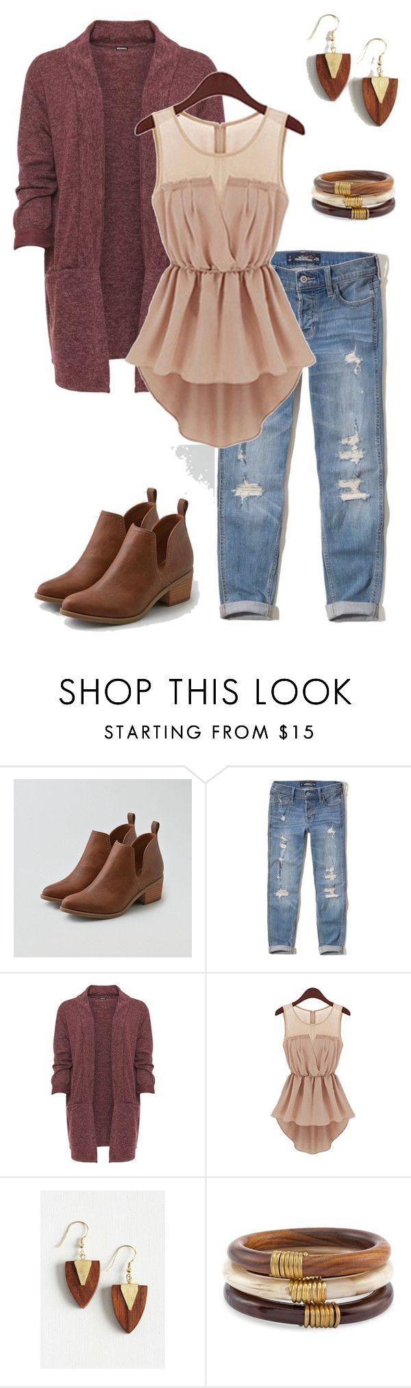 """""""Thanksgiving Outfit"""" by kayla-nelson-1 on Polyvore featuring American Eagle Outfitters, Hollister Co., WearAll, Mata Traders,"""