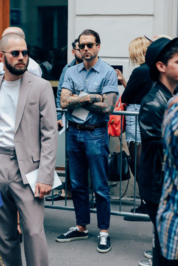 The Most Stylish Men in Paris Show You How to Dress This Summer Photos   GQ