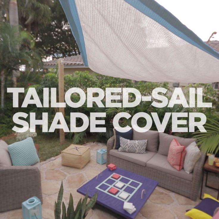 Customize an Outdoor Sail Shade