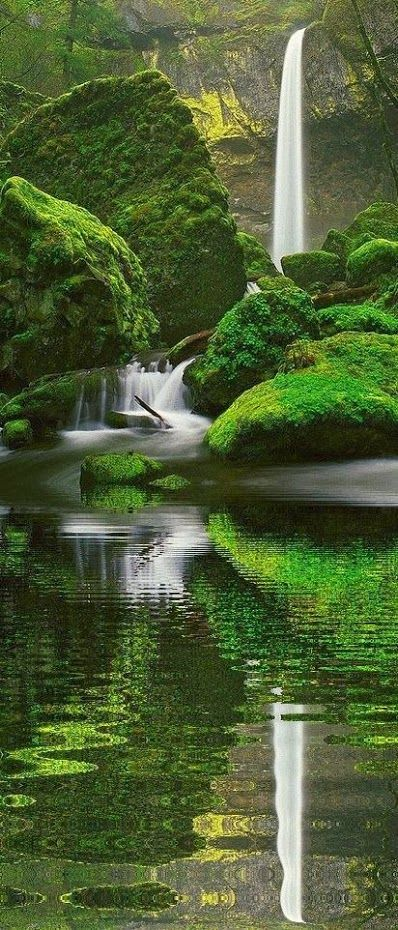 Elowah Falls. Oregon stunningpicz.blog…