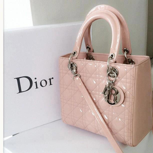 Christian Dior Lady Dior pink handbag – the one that I been wanted to buy!!!