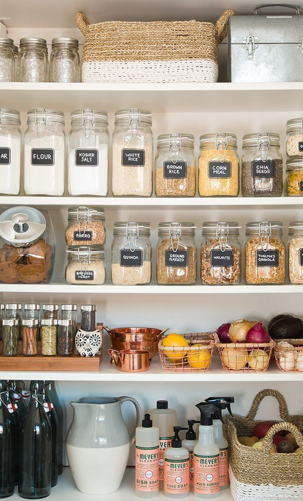 cool cool When it comes to pantry organization, it's out with the old and in with t… by
