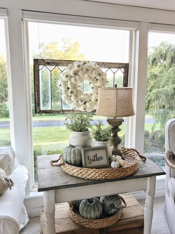 Rustic Farmhouse Fall – Seeing the beauty in everyday fall moments.