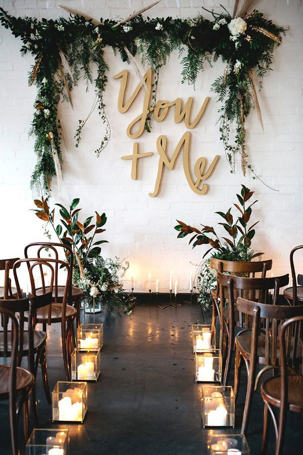 Aisle t rely on sunshine in the winter to give you great light. Use candles in glass containers (because a wedding dress on fire