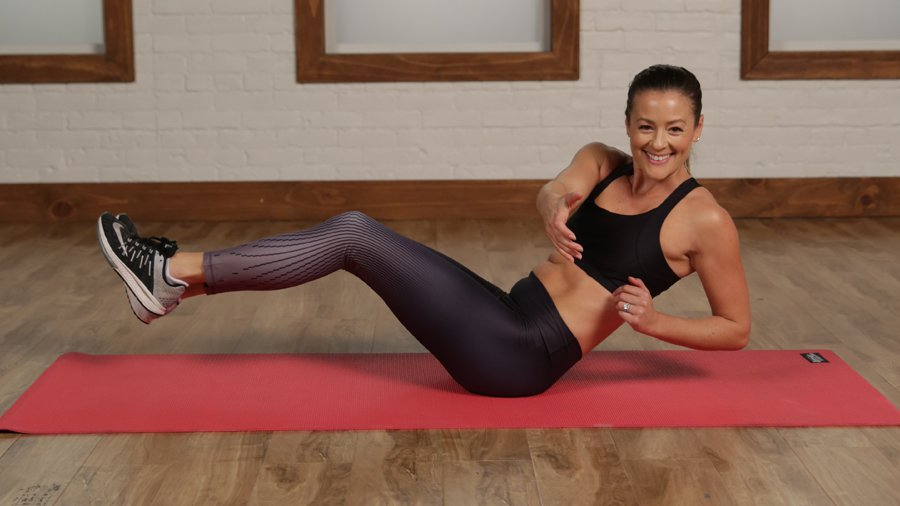 5 Minutes to a Flat Belly With No Crunches!: We are so over crunches! #women_diet_weightloss