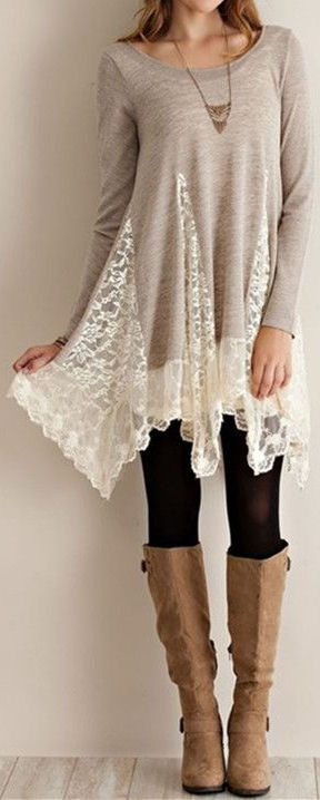 Pretty Pleated Lace Blouse ❤︎