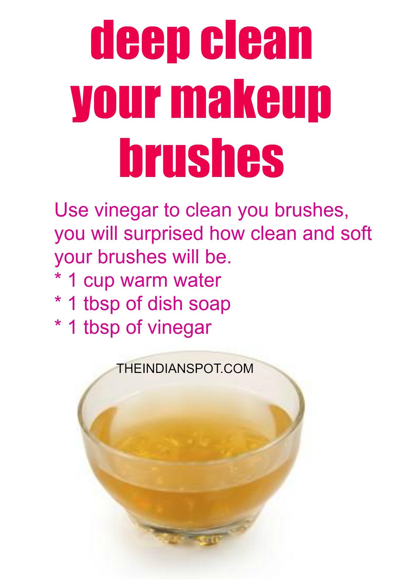 brush cleanser.